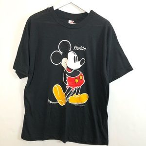 Vintage Mickey Mouse Sherry Florida T-Shirt 1980s